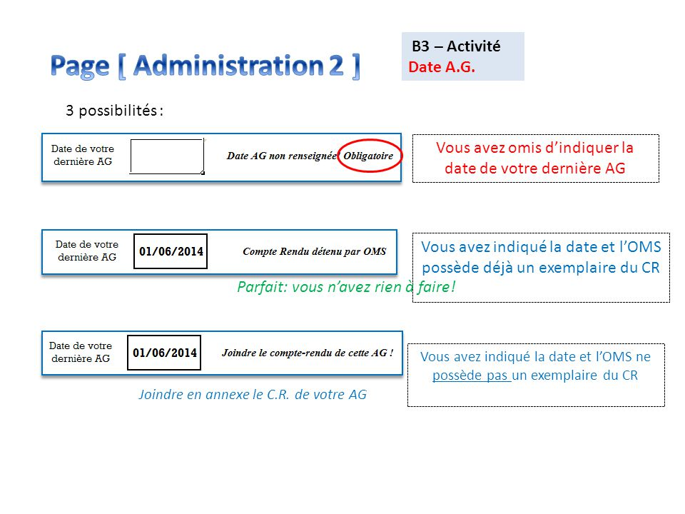 Page [ Administration 2 ]